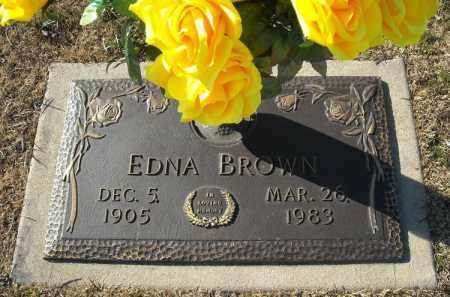 BROWN, EDNA - Faulkner County, Arkansas   EDNA BROWN - Arkansas Gravestone Photos