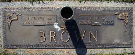 BROWN, HARVEY W. - Faulkner County, Arkansas | HARVEY W. BROWN - Arkansas Gravestone Photos