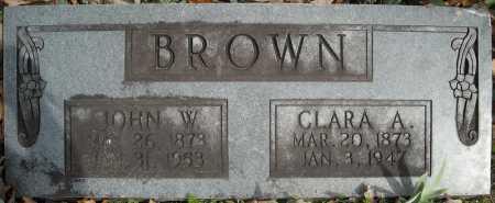 BROWN, JOHN WILLIAM - Faulkner County, Arkansas | JOHN WILLIAM BROWN - Arkansas Gravestone Photos