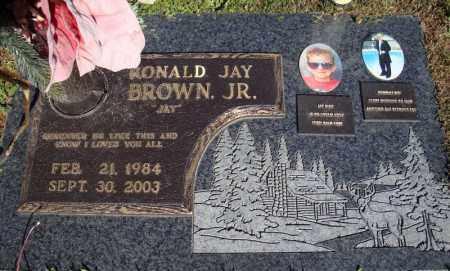 BROWN, JR., RONALD JAY - Faulkner County, Arkansas   RONALD JAY BROWN, JR. - Arkansas Gravestone Photos