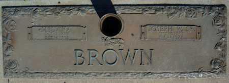 BROWN, SR., JOSEPH W. - Faulkner County, Arkansas | JOSEPH W. BROWN, SR. - Arkansas Gravestone Photos