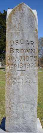 BROWN, OSCAR - Faulkner County, Arkansas | OSCAR BROWN - Arkansas Gravestone Photos