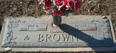 BROWN, DESSIE L. - Faulkner County, Arkansas | DESSIE L. BROWN - Arkansas Gravestone Photos