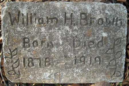 BROWN, WILLIAM HENRY - Faulkner County, Arkansas   WILLIAM HENRY BROWN - Arkansas Gravestone Photos