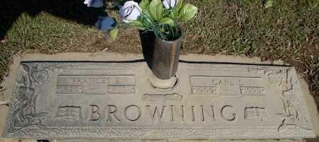 BROWNING, CARL S. - Faulkner County, Arkansas | CARL S. BROWNING - Arkansas Gravestone Photos