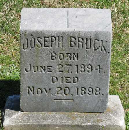 BRUCK, JOSEPH - Faulkner County, Arkansas   JOSEPH BRUCK - Arkansas Gravestone Photos