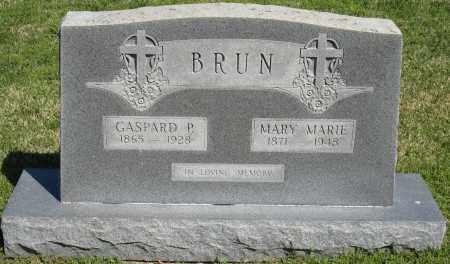 BRUN, MARY MARIE - Faulkner County, Arkansas   MARY MARIE BRUN - Arkansas Gravestone Photos