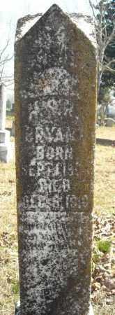 BRYANT, H.S.R. - Faulkner County, Arkansas   H.S.R. BRYANT - Arkansas Gravestone Photos