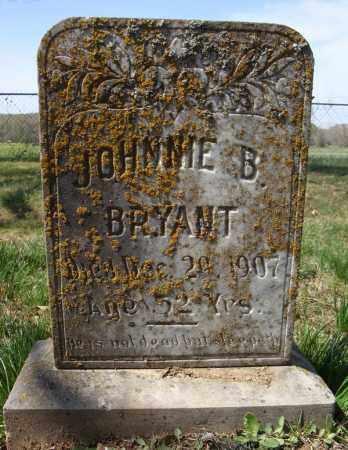 BRYANT, JOHNNIE B. - Faulkner County, Arkansas | JOHNNIE B. BRYANT - Arkansas Gravestone Photos