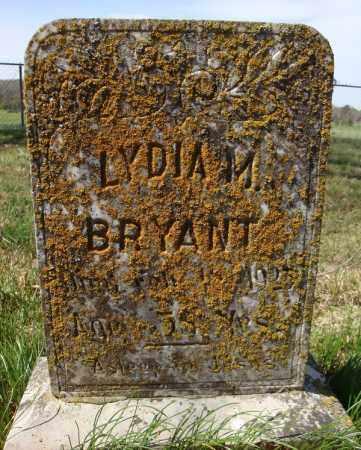 BRYANT, LYDIA M. - Faulkner County, Arkansas | LYDIA M. BRYANT - Arkansas Gravestone Photos