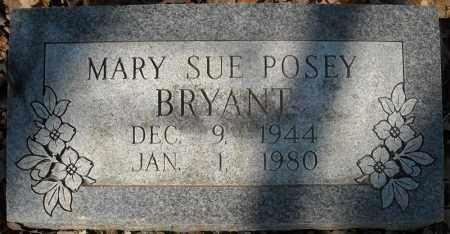POSEY BRYANT, MARY SUE - Faulkner County, Arkansas | MARY SUE POSEY BRYANT - Arkansas Gravestone Photos