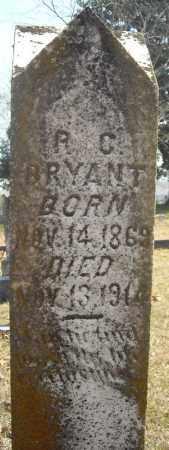 BRYANT, R.C. - Faulkner County, Arkansas   R.C. BRYANT - Arkansas Gravestone Photos