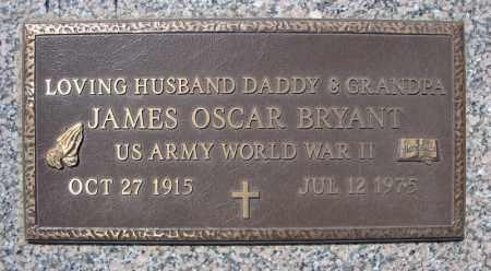 BRYANT (VETERAN WWII), JAMES OSCAR - Faulkner County, Arkansas | JAMES OSCAR BRYANT (VETERAN WWII) - Arkansas Gravestone Photos