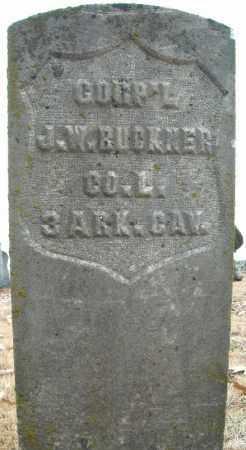 BUCKNER (VETERAN UNION), J.W. - Faulkner County, Arkansas | J.W. BUCKNER (VETERAN UNION) - Arkansas Gravestone Photos