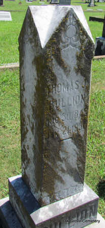 BULLION (VETERAN CSA), THOMAS JEFFERSON - Faulkner County, Arkansas | THOMAS JEFFERSON BULLION (VETERAN CSA) - Arkansas Gravestone Photos