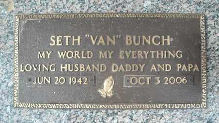 BUNCH, SETH - Faulkner County, Arkansas   SETH BUNCH - Arkansas Gravestone Photos