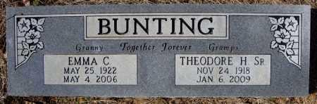 BUNTING, EMMA C. - Faulkner County, Arkansas | EMMA C. BUNTING - Arkansas Gravestone Photos