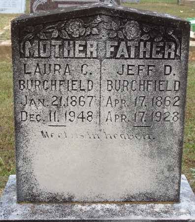 BURCHFIELD, JEFF D. - Faulkner County, Arkansas | JEFF D. BURCHFIELD - Arkansas Gravestone Photos