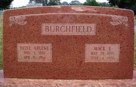 BURCHFIELD, MACK E. - Faulkner County, Arkansas   MACK E. BURCHFIELD - Arkansas Gravestone Photos