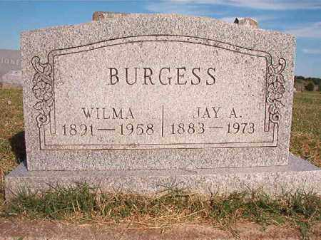 BURGESS, JAY A. - Faulkner County, Arkansas | JAY A. BURGESS - Arkansas Gravestone Photos