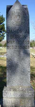 BURGIN, JAMES A. - Faulkner County, Arkansas | JAMES A. BURGIN - Arkansas Gravestone Photos