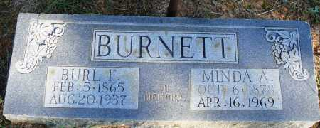 BURNETT, MINDA A. - Faulkner County, Arkansas | MINDA A. BURNETT - Arkansas Gravestone Photos