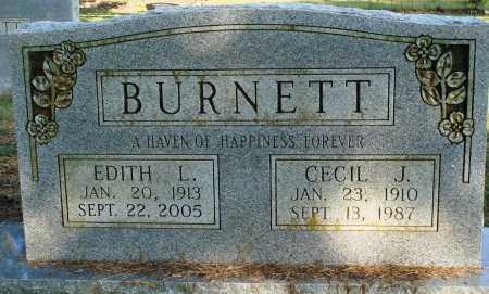 BURNETT, CECIL J. - Faulkner County, Arkansas | CECIL J. BURNETT - Arkansas Gravestone Photos