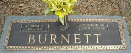 BURNETT, GENEVA E. - Faulkner County, Arkansas | GENEVA E. BURNETT - Arkansas Gravestone Photos