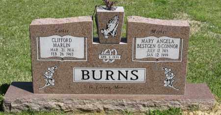 O'CONNOR BURNS, MARY ANGELA - Faulkner County, Arkansas   MARY ANGELA O'CONNOR BURNS - Arkansas Gravestone Photos