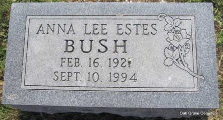 BUSH, ANNA LEE - Faulkner County, Arkansas | ANNA LEE BUSH - Arkansas Gravestone Photos
