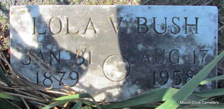 BUSH, LOLA V. - Faulkner County, Arkansas | LOLA V. BUSH - Arkansas Gravestone Photos