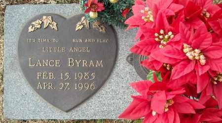 BYRAM, LANCE - Faulkner County, Arkansas | LANCE BYRAM - Arkansas Gravestone Photos