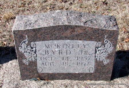 BYRD, JR., MCKINLEY - Faulkner County, Arkansas | MCKINLEY BYRD, JR. - Arkansas Gravestone Photos