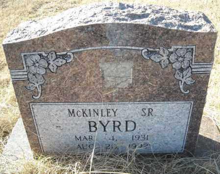 BYRD, SR., MCKINLEY - Faulkner County, Arkansas   MCKINLEY BYRD, SR. - Arkansas Gravestone Photos