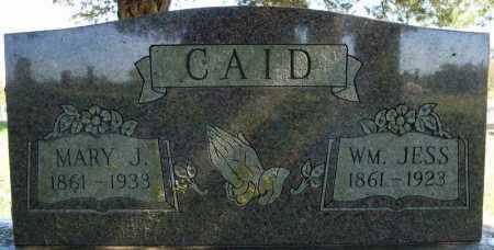 CAID, MARY J. - Faulkner County, Arkansas | MARY J. CAID - Arkansas Gravestone Photos