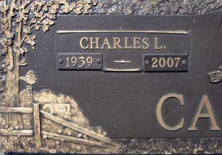 CALVIN, CHARLES L.  (CLOSE UP) - Faulkner County, Arkansas | CHARLES L.  (CLOSE UP) CALVIN - Arkansas Gravestone Photos