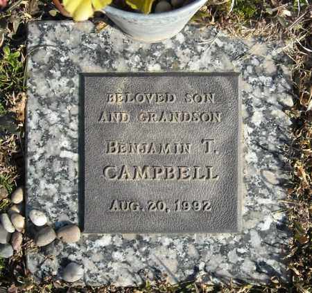 CAMPBELL, BENJAMIN T. - Faulkner County, Arkansas   BENJAMIN T. CAMPBELL - Arkansas Gravestone Photos