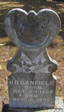 CANFIELD, H.D. - Faulkner County, Arkansas   H.D. CANFIELD - Arkansas Gravestone Photos