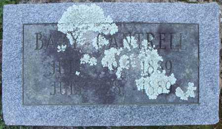 CANTRELL, BABY (1889) - Faulkner County, Arkansas   BABY (1889) CANTRELL - Arkansas Gravestone Photos