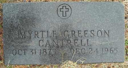 CANTRELL, MYRTLE - Faulkner County, Arkansas | MYRTLE CANTRELL - Arkansas Gravestone Photos