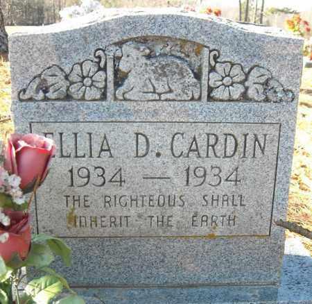CARDIN, ELLIA D. - Faulkner County, Arkansas | ELLIA D. CARDIN - Arkansas Gravestone Photos