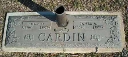 CARDIN, JAMES A. - Faulkner County, Arkansas | JAMES A. CARDIN - Arkansas Gravestone Photos