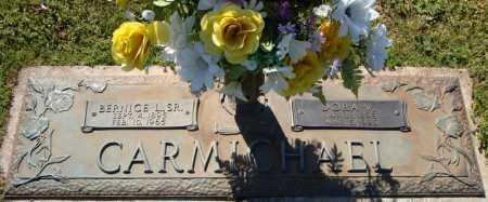 CARMICHAEL, SR., BERNICE L. - Faulkner County, Arkansas   BERNICE L. CARMICHAEL, SR. - Arkansas Gravestone Photos