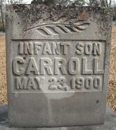 CARROLL, INFANT SON - Faulkner County, Arkansas | INFANT SON CARROLL - Arkansas Gravestone Photos