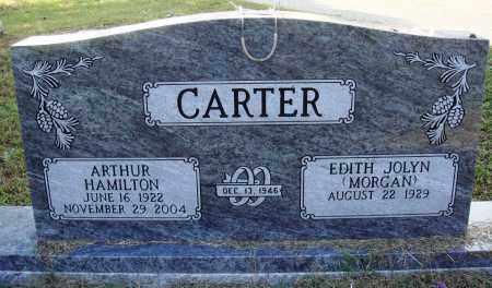 CARTER, ARTHUR HAMILTON - Faulkner County, Arkansas | ARTHUR HAMILTON CARTER - Arkansas Gravestone Photos