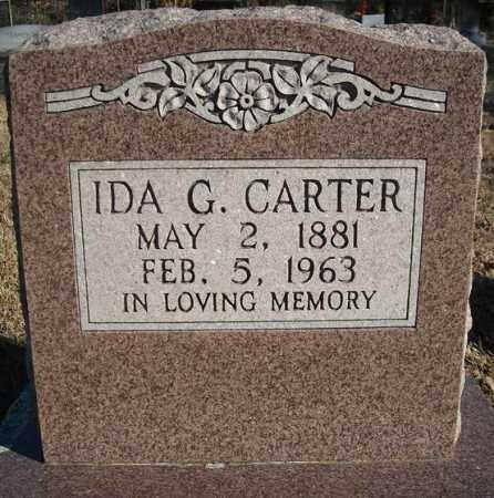 CARTER, IDA G. - Faulkner County, Arkansas   IDA G. CARTER - Arkansas Gravestone Photos