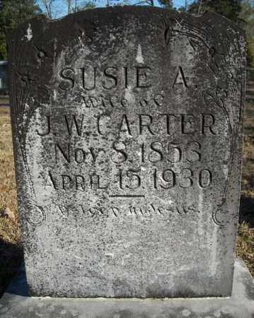 CARTER, SUSIE A. - Faulkner County, Arkansas | SUSIE A. CARTER - Arkansas Gravestone Photos