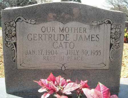JAMES CATO, GERTRUDE - Faulkner County, Arkansas | GERTRUDE JAMES CATO - Arkansas Gravestone Photos
