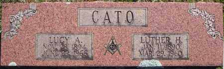CATO, LUTHER H. - Faulkner County, Arkansas | LUTHER H. CATO - Arkansas Gravestone Photos