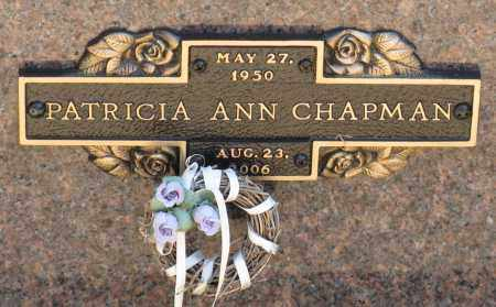 CHAPMAN, PATRICIA ANN - Faulkner County, Arkansas | PATRICIA ANN CHAPMAN - Arkansas Gravestone Photos